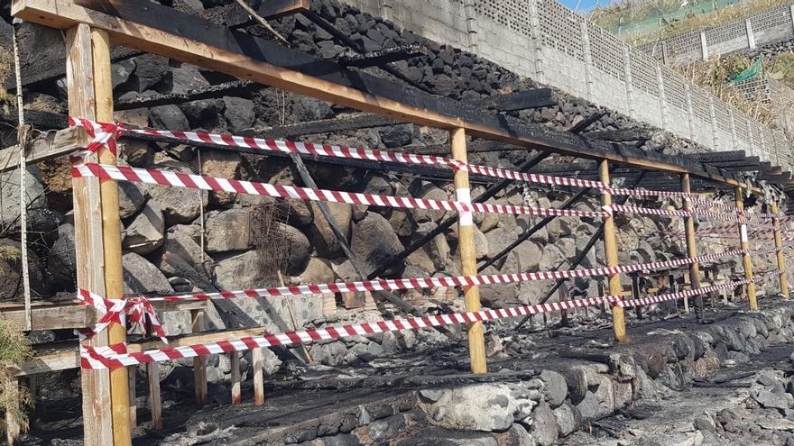 El área de ocio de Martín Luis sufrió un incendio recientemente.