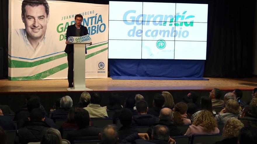 """Feijóo ve en Vox """"un producto"""" del pacto de Sánchez con el independentismo y pide negociación para formar gobierno"""
