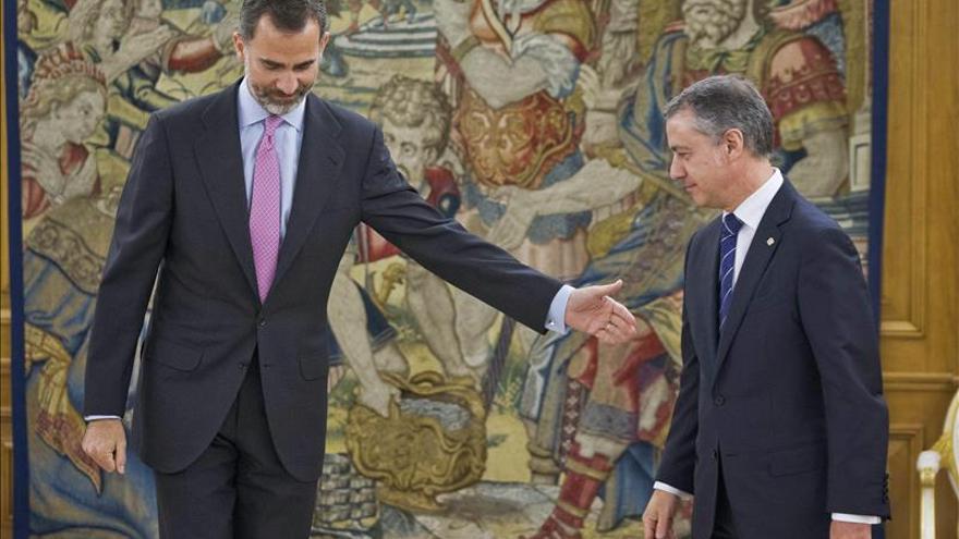El Gobierno Vasco dice que el rey debe extraer sus propias conclusiones sobre el modelo de Estado