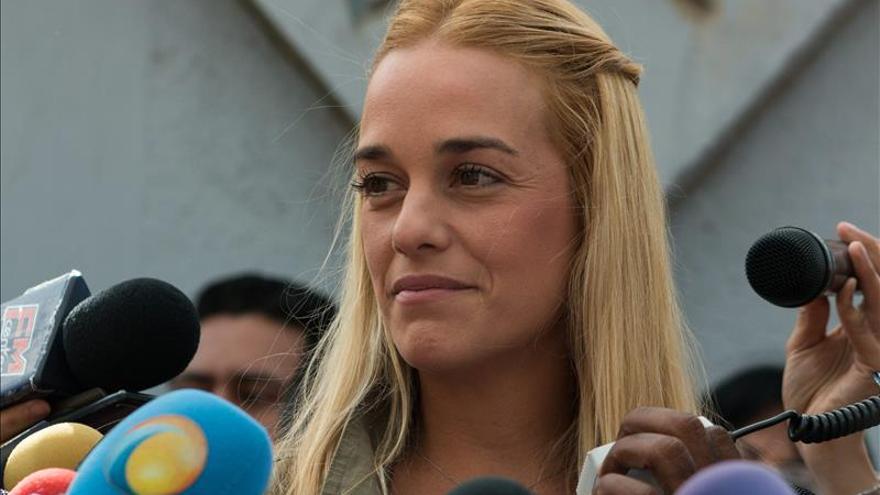 """Lilian Tintori: """"A Leopoldo lo va a liberar el pueblo de Venezuela"""""""