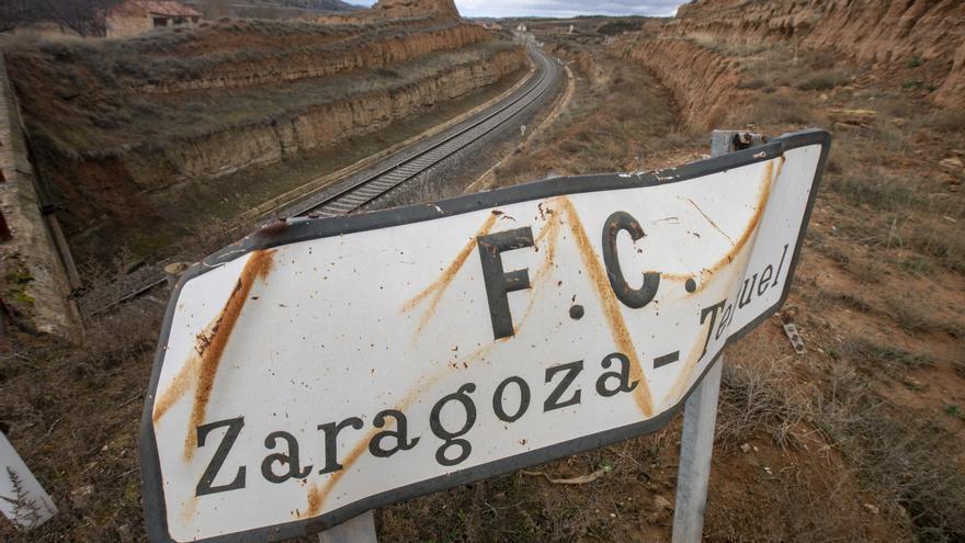 El estudio informativo de cómo debería ser el proyecto en el tramo desde Teruel hacia Valencia lo dejaron caducar en 2015