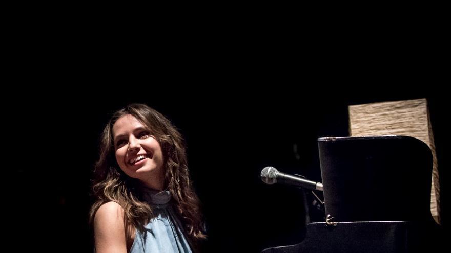 Elena Iturrieta durante uno de sus conciertos. | GUS ALVES