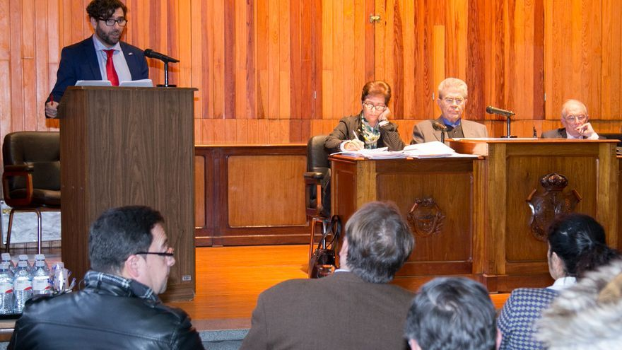 Pleno del Consejo Social de la Universidad de La Laguna.