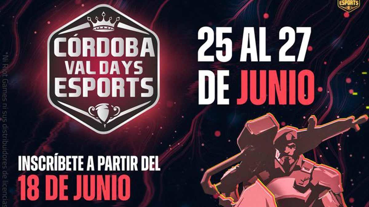 Cartel de Córdoba Val Days eSports
