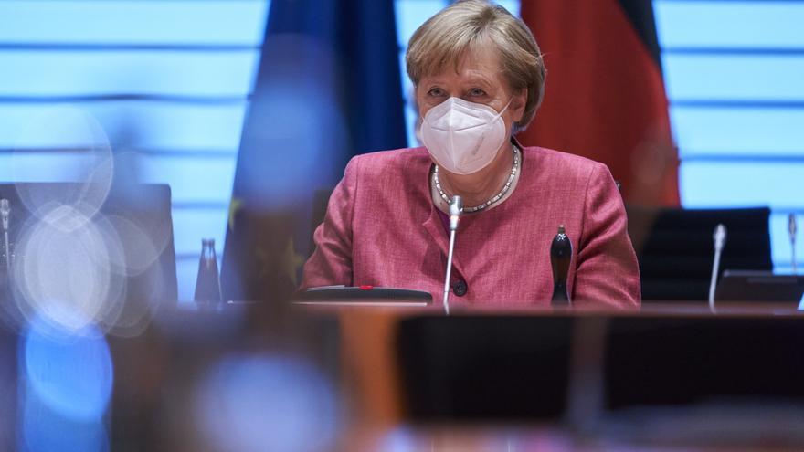 Merkel agradece a todos los trabajadores sus esfuerzos durante la pandemia