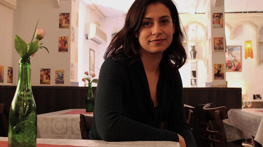 Beatriz Rodríguez, autora de 'Cuando éramos ángeles'. / JUANMI BAQUERO