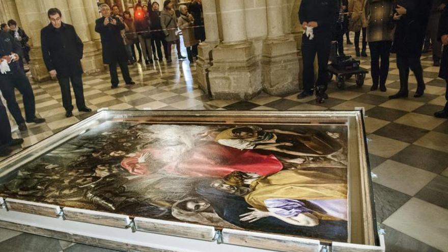 Hoy reabre la sacristía de la Catedral Primada de Toledo