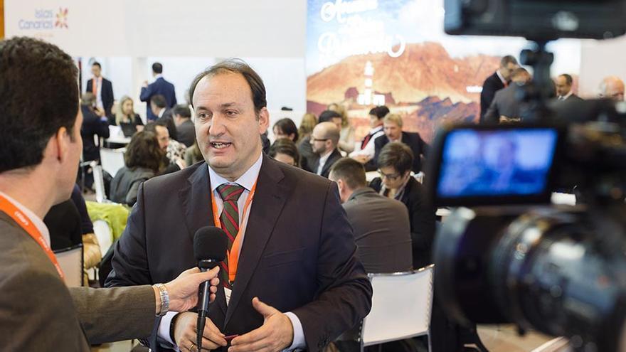 El viceconsejero regional de Turismo, Ricardo Fernández de la Puente. (Foto: Nacho González).