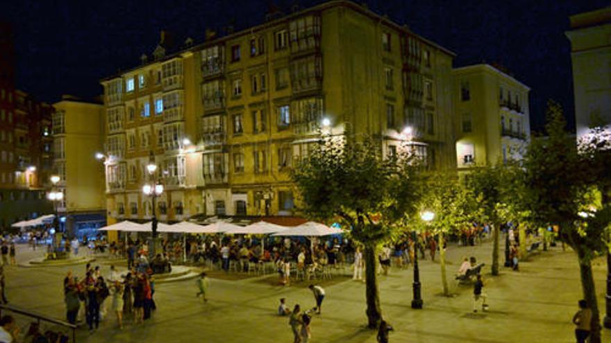 Plaza de Cañadío en Santander. | EP