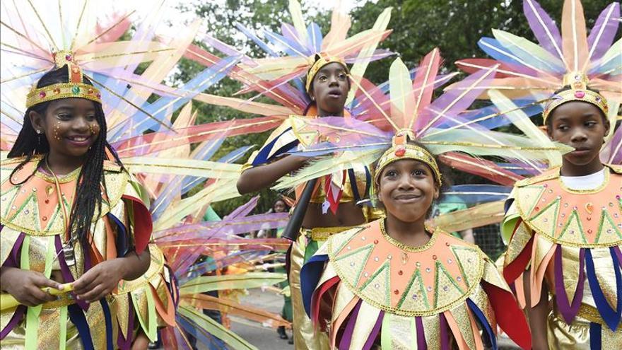 Ritmos afrocaribeños en el carnaval de Notting Hill