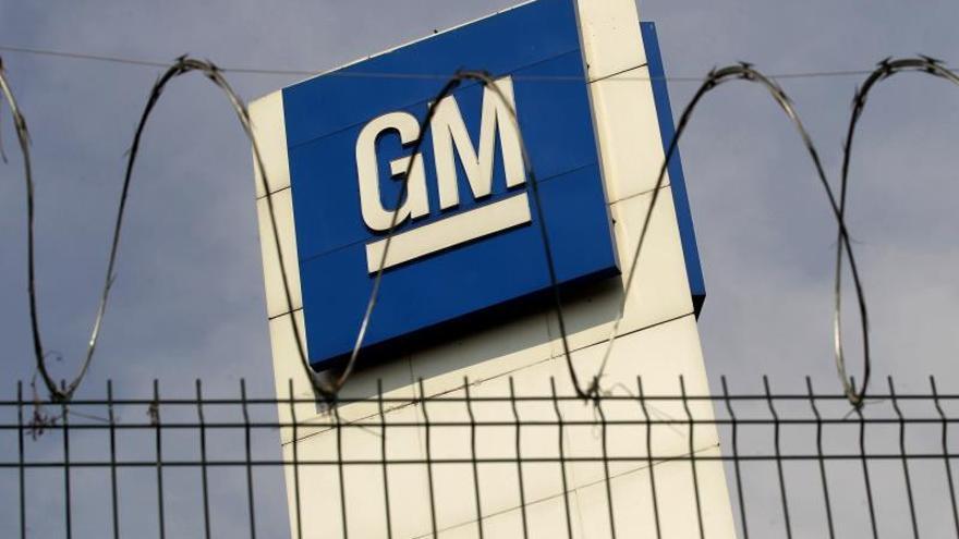 Fotografía de archivo que muestra el exterior de las oficinas de General Motors.