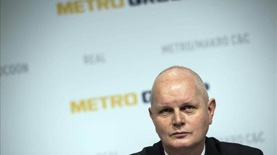 Metro gana 714 millones de euros el año fiscal 2014/2015, cuatro veces más