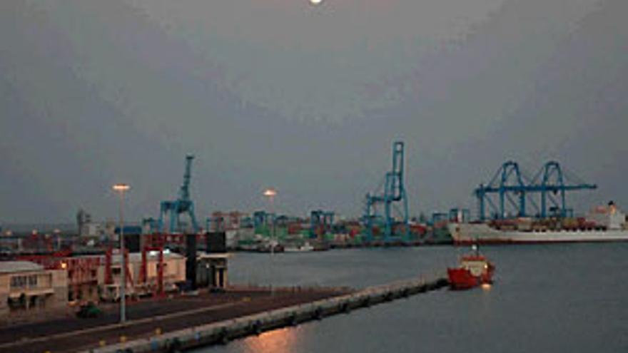 El puerto de La Luz.