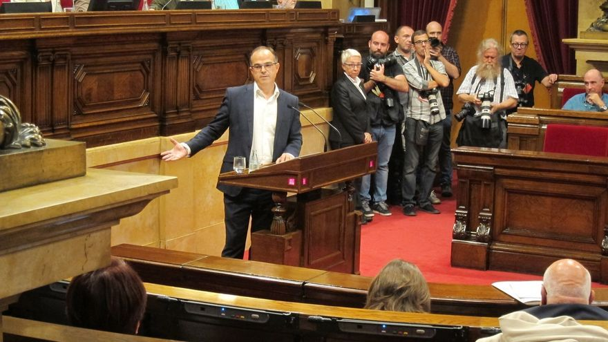 Turull (JxSí) defiende la legitimidad para el referéndum y pide estabilidad a la CUP