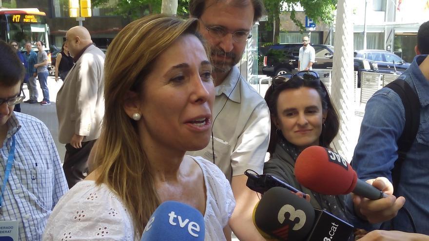 """Sánchez-Camacho cree que Rajoy es el mejor candidato y que """"es momento de estar todos unidos"""""""