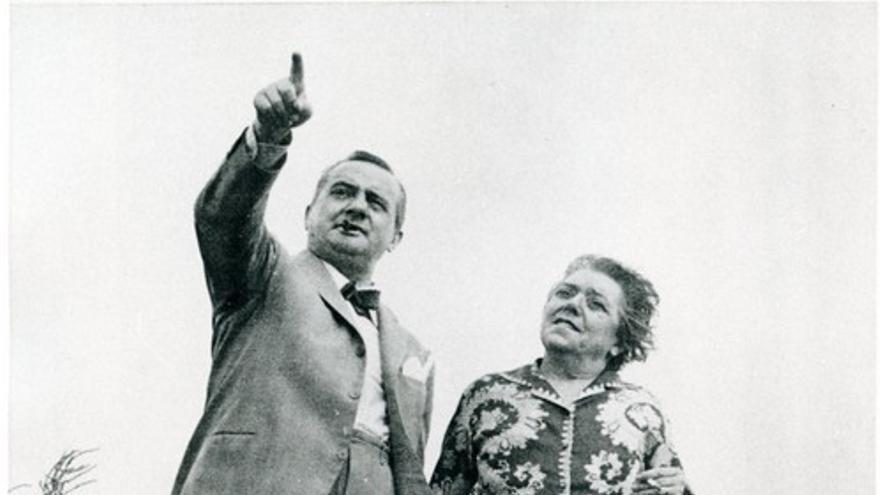 Antonio Meluschi y Renata Viganò.