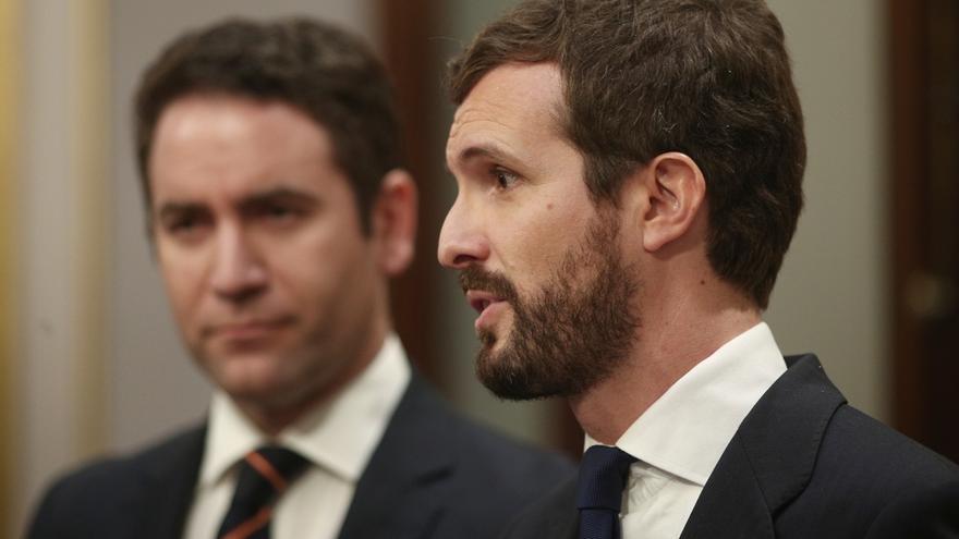 """Casado pedirá ya que Sánchez explique los ERE en el Congreso porque esta """"trama"""" permitió al PSOE """"seguir en el poder"""""""