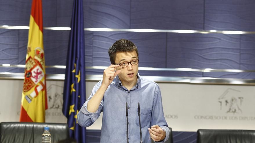 """Errejón aplaude la propuesta del PSOE para Cataluña: """"El tiempo nos va dando la razón"""""""