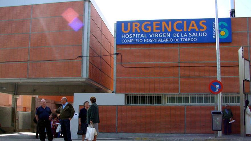 """Urgencias del hospital """"Virgen de la Salud"""", Toledo. Foto oficial"""