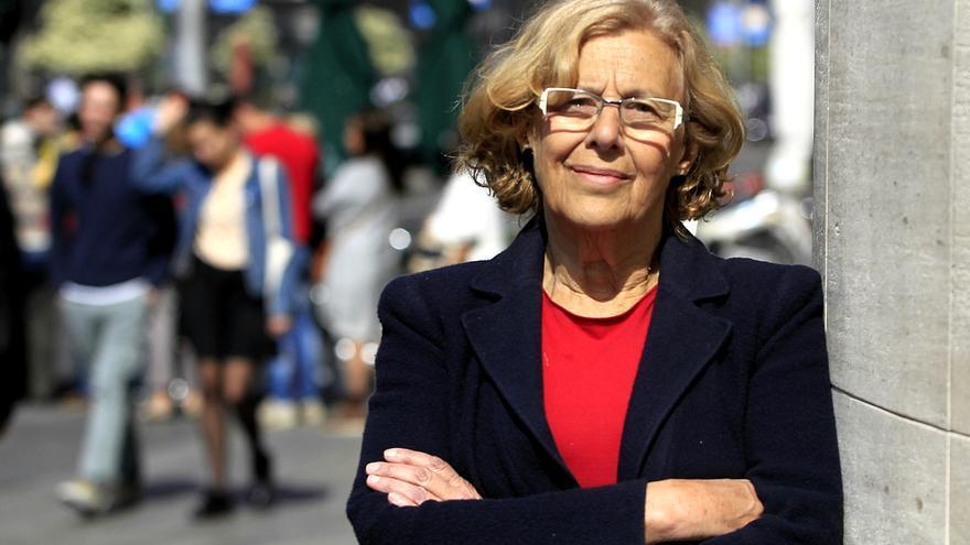 La candidata de Ahora Madrid al Ayuntamiento de la capital, Manuela Carmena / FOTO: Marta Jara