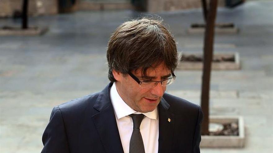 """Puigdemont: """"El turismo en Cataluña pasa con nota la prueba de confianza"""""""