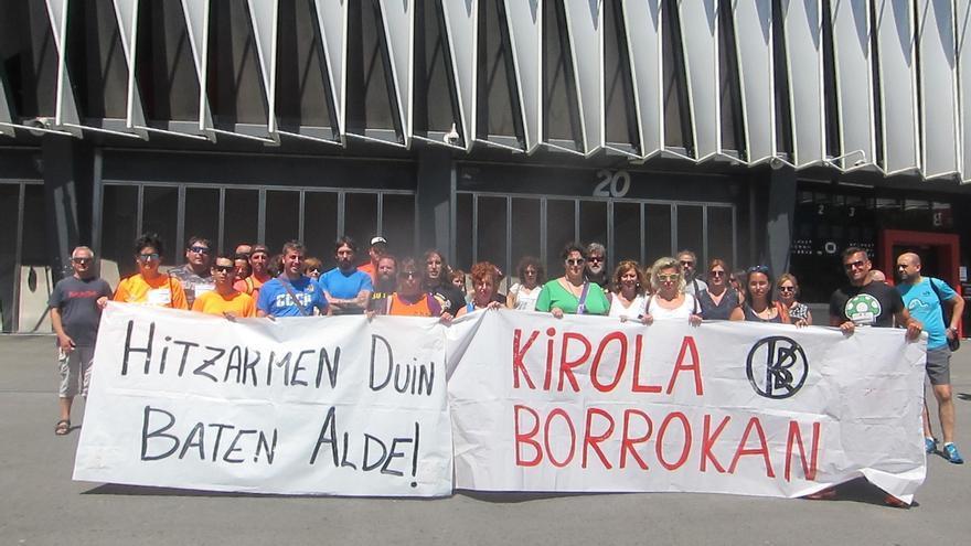 UGT, LAB y CCOO aceptan la oferta de Cebek del Convenio de locales y campos deportivos, y desconvocan la huelga