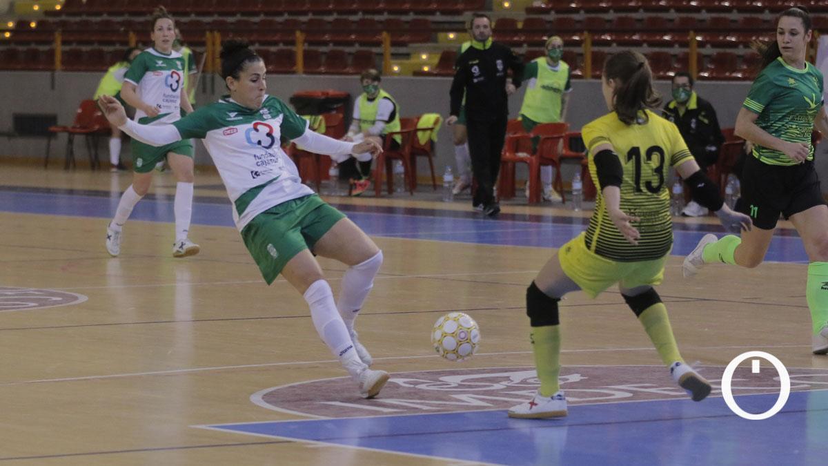 Lance de un duelo del Deportivo Córdoba en Vista Alegre.