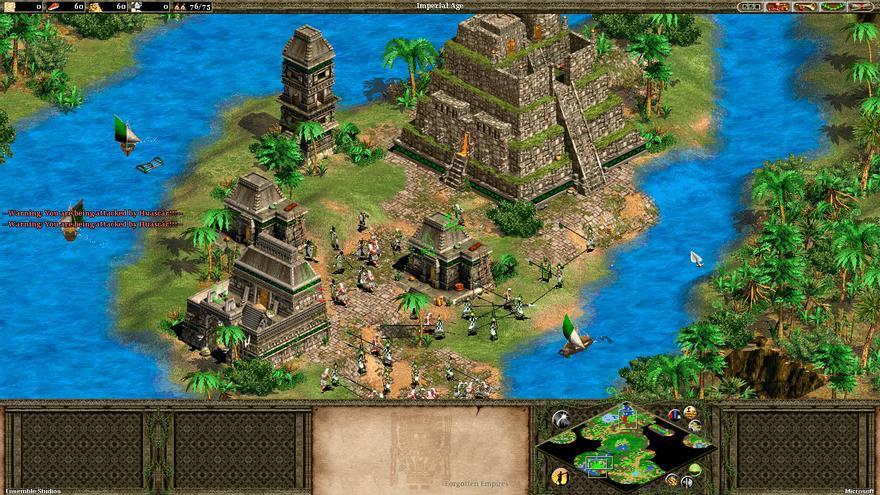 Los incas, una de las cinco civilizaciones que Beeckman soñaba con añadir a 'Age of Empires II'