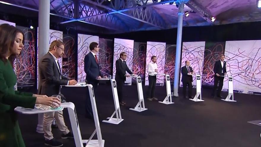 Debate electoral de los candidatos a la Generalitat en LaSexta