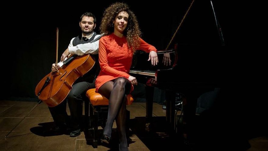 Ciro Hernández y Noemi Brito.