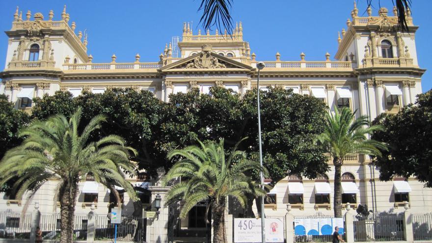 Archivo - El Palacio Provincial de la Diputación de Alicante.