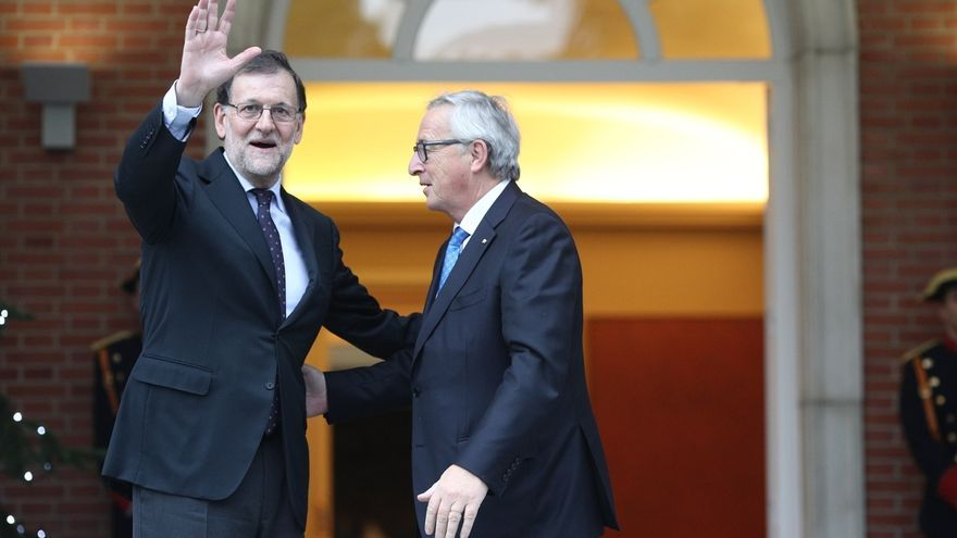 Juncker no ha contactado con Rajoy por la situación en Cataluña