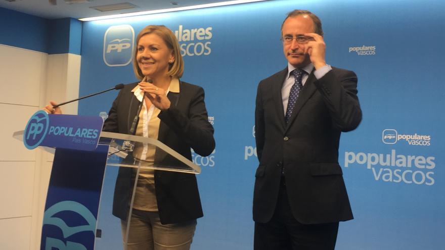Alfonso Alonso y María Dolores de Cospedal