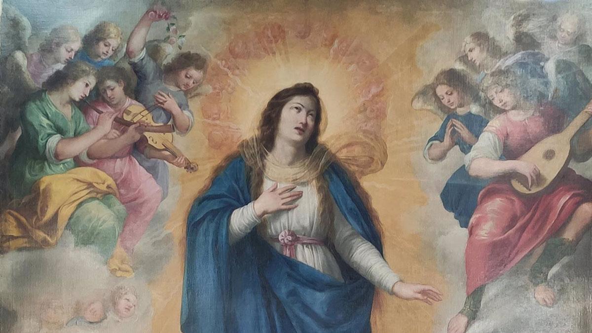 La Inmaculada Concepción de Bartolomé Román.