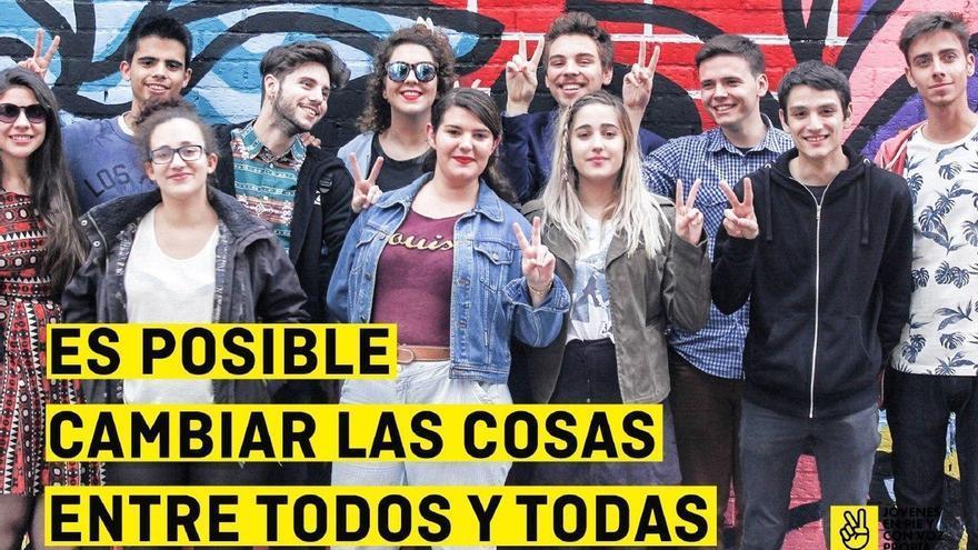 Simpatizantes de Podemos, IU y asociaciones de estudiantes impulsan una plataforma para movilizar el voto joven