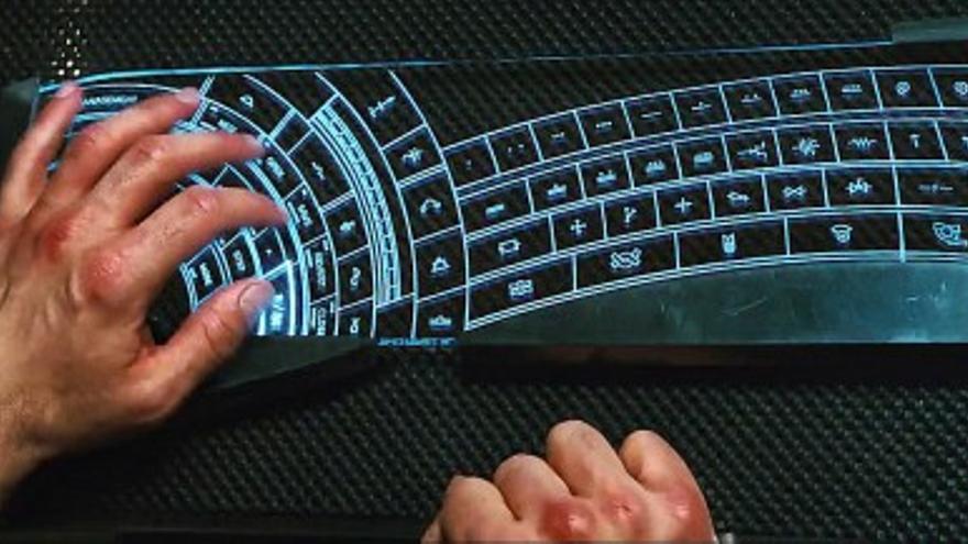 Así es el teclado de Tony Stark, ¿quieres uno igual?