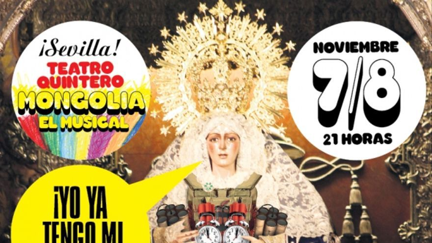 'Mongolia, el musical' estará en Sevilla el 7 y 8 de noviembre