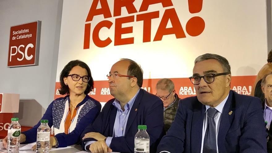 """Iceta reivindica las siglas del PSC frente al """"transformismo"""" de independentistas"""