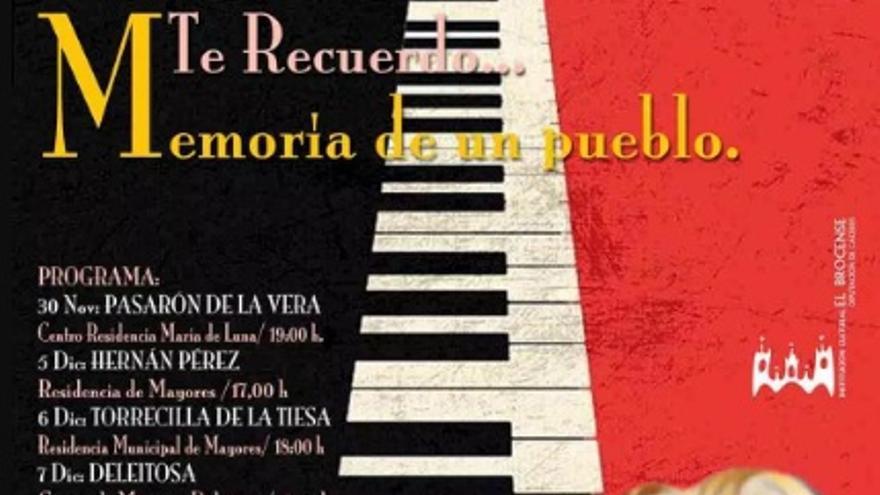 """""""Te recuerdo, memoria de un pueblo"""", con Pilar Boyero"""