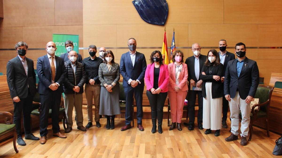 El acto ha tenido lugar en la Diputación de València.