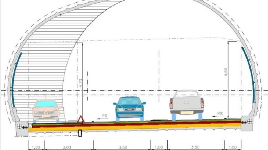 El Gobierno de Navarra invertirá 4,9 millones para adecuar los túneles de Belate y Almandoz a la normativa europea