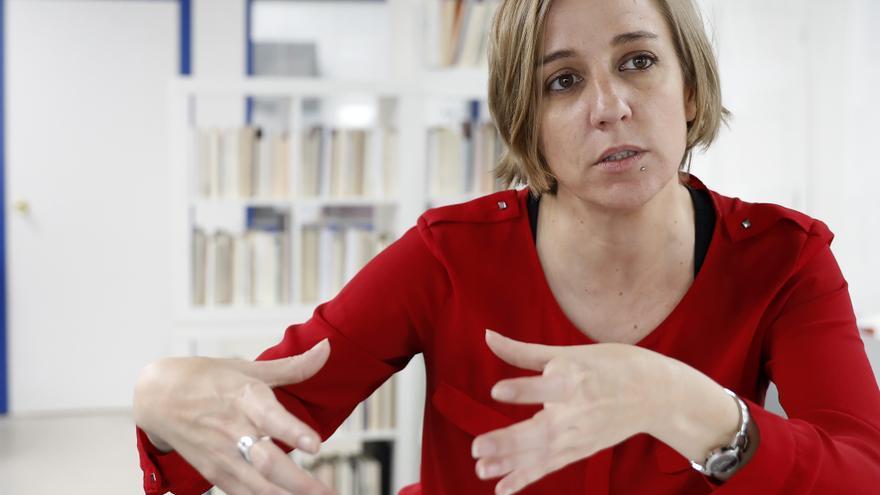 La diputada de Podemos y 'número dos' de Íñigo Errejón en las primarias de Madrid, Tania Sánchez.