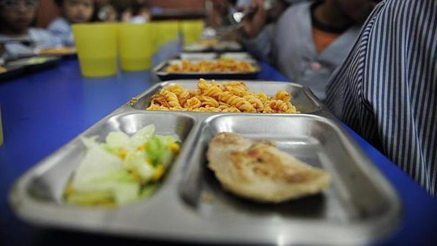 Los comedores escolares son una salvación para muchas familias