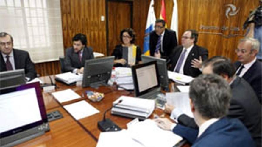 Consejo de Administración de la Autoridad Portuaria de Las Palmas. (ACFI PRESS)