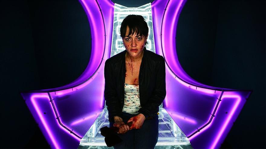 Jamie Winstone en 'Dead Set'
