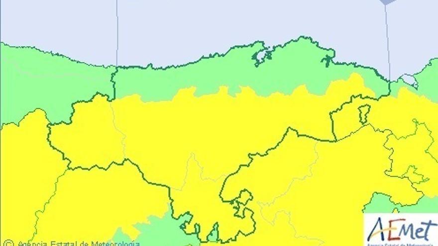 Cantabria activa este lunes el aviso por altas temperaturas