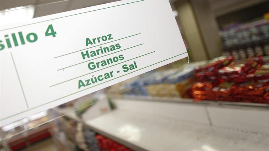 Azúcar y lácteos elevan ligeramente en octubre los precios de los alimentos