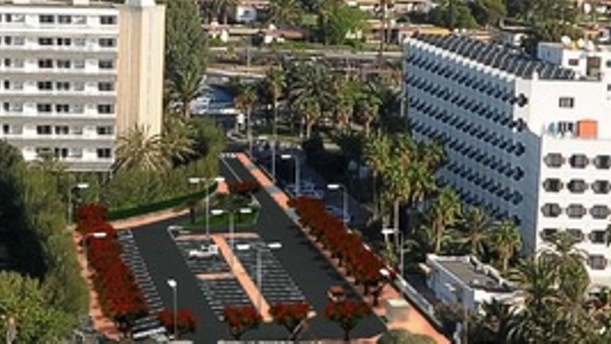 Proyecto de rehabilitación de los accesos a la playa de San Agustín.
