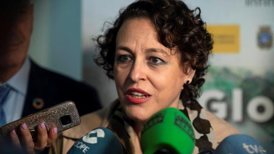 La ministra de Trabajo, Migraciones y Seguridad Social en funciones, Magdalena Valerio.
