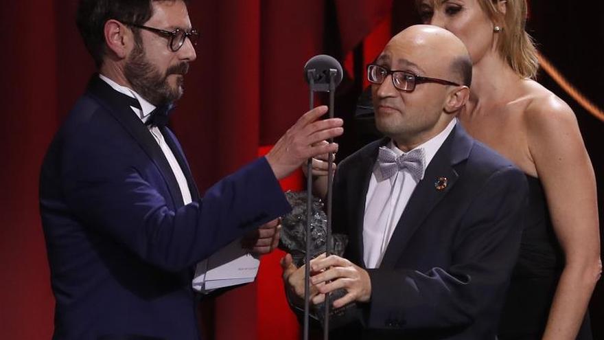 """Jesús Vidal, Goya al mejor actor revelación por """"Campeones"""""""
